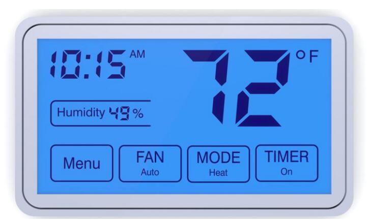 humidity control for ac and heat pump