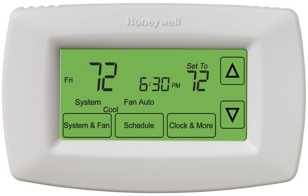 how to get most of your thermostat setting for ac heat pump furnace. Black Bedroom Furniture Sets. Home Design Ideas