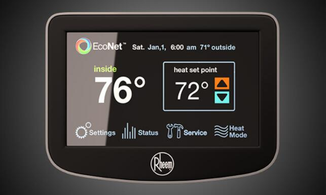 rheem ruud thermostat reviews prices and buying guide 2018 rh pickhvac com Rheem Thermostat Wiring Diagram Rheem Thermostat Wiring Diagram