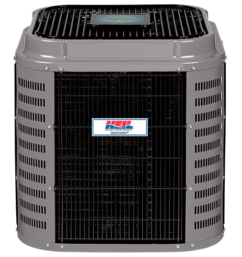 heil quietcomfort deluxe 17 hca7 central ac - Best Central Air Conditioner