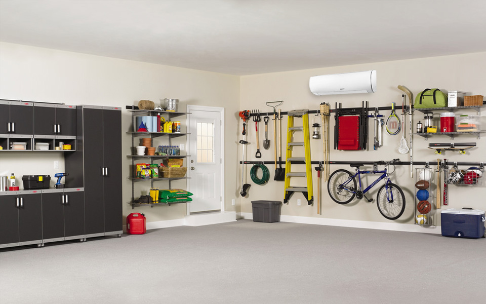 air conditioner types for garage