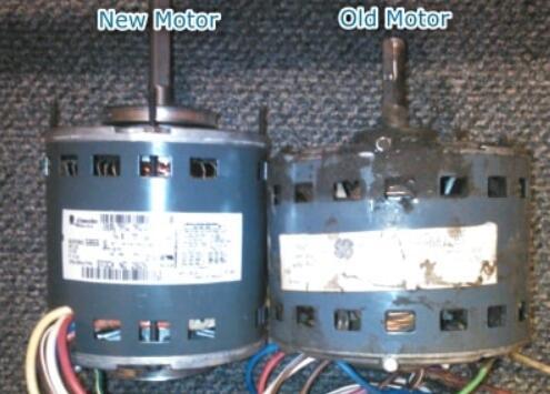 new blower fan vs bad old blower fan