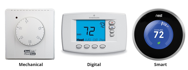 Thermostats Types