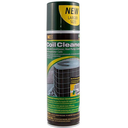 WEB Condenser Coil Cleaner