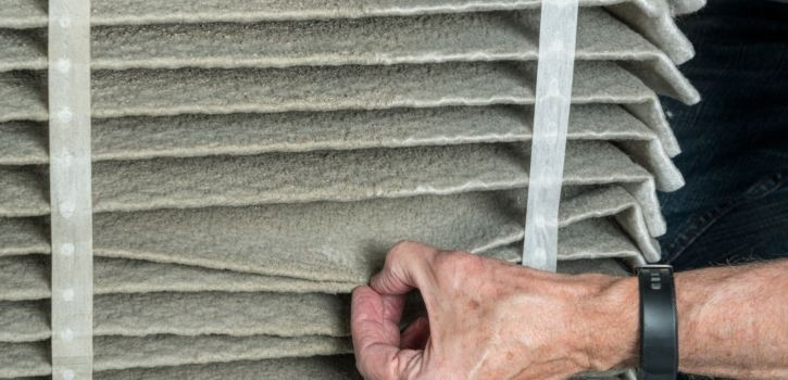 Furnace Dirty Air Filter