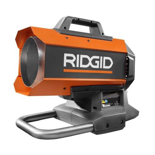 Ridgid's 18-volt forced air heater