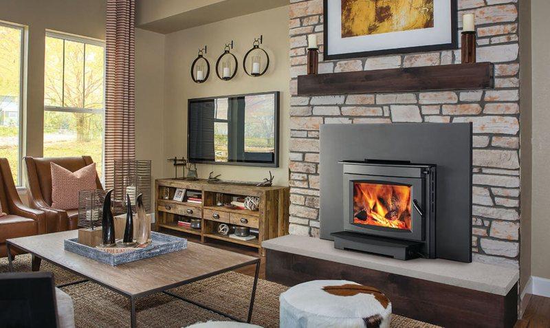 Wood Burning Fireplace-Insert