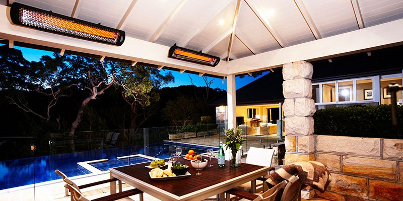 mounted patio heater