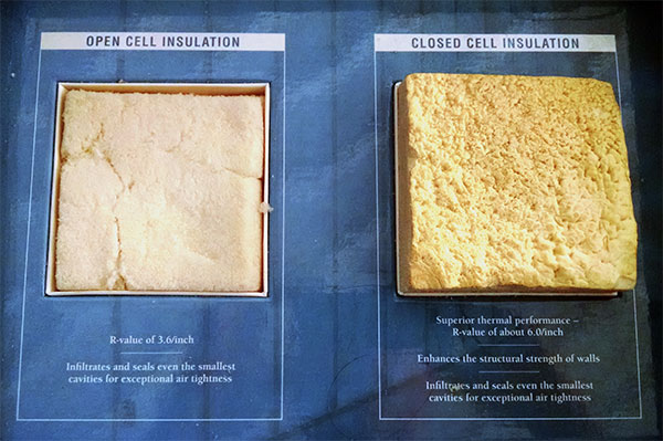 Open Cell VS Closed Cell Insulation