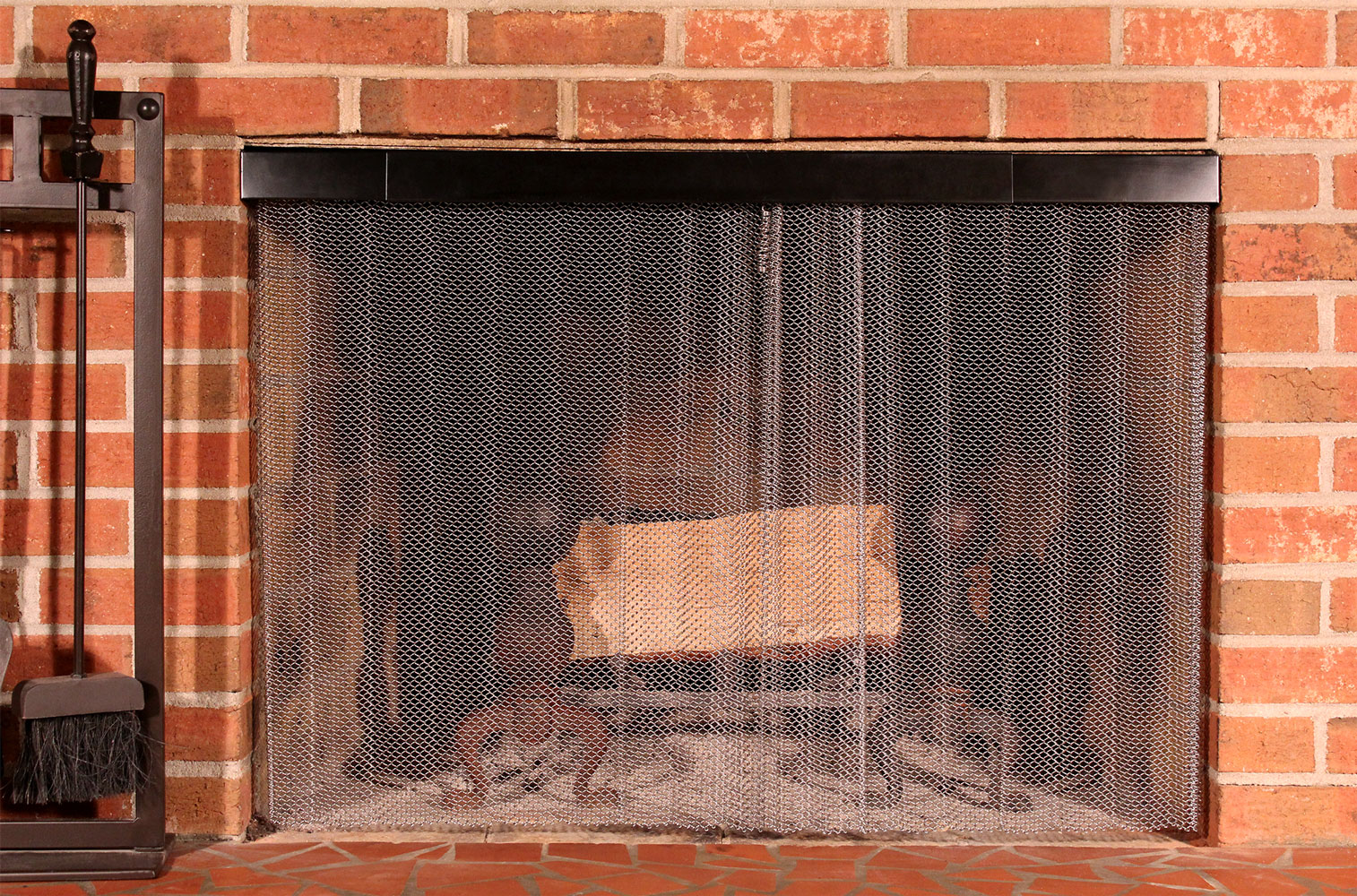 Hanging Fireplace Screens