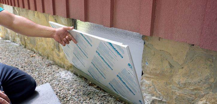 Insulation Crawl Space Seal Vents