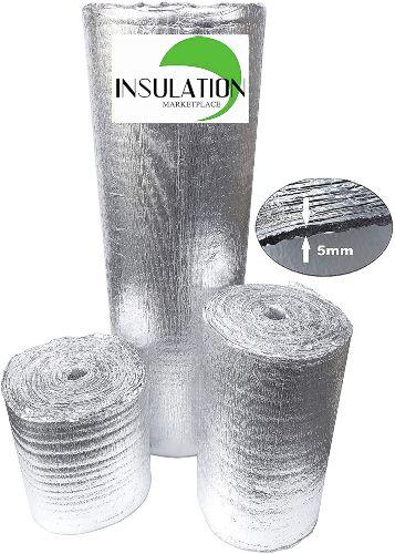 SmartSHIELD 5mm 16''X50ft Reflective Insulation Roll Foam Core