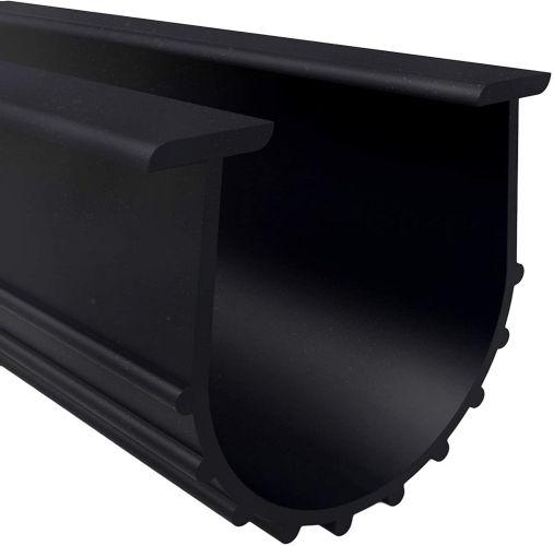 Universal Garage Door U-Bottom Weather Stripping Rubber Seal Strip