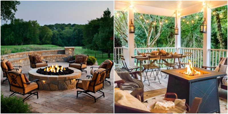 Natural Gas vs. Propane Fire Tables