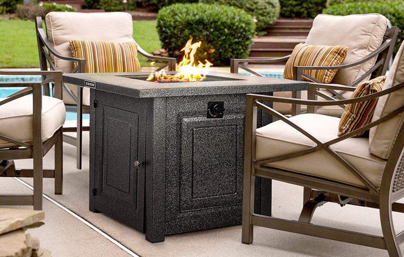 Steel Fire Table