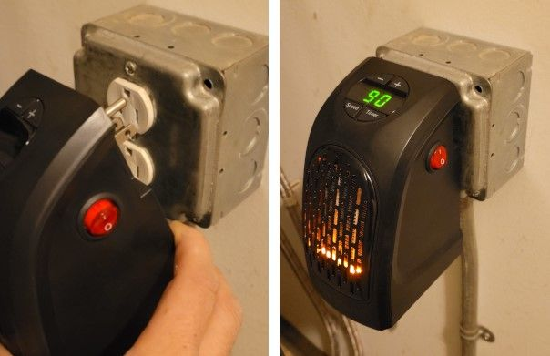 handy heater rotating plug
