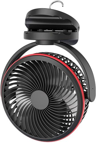 SLENPET Battery Operated Clip on Fan