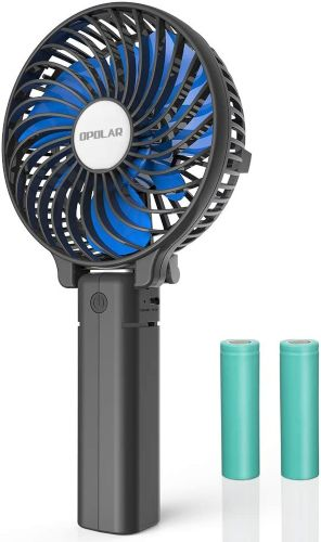 OPOLAR Small Handheld Battery Operated Face Fan