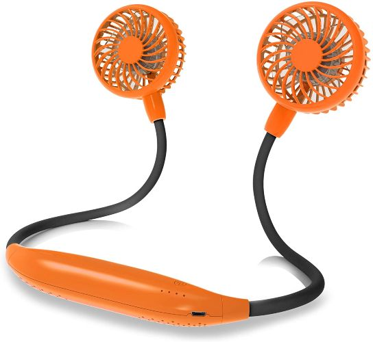 Portable Neck Fan Battery Operated Ultra Quiet Hands