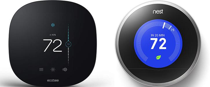 Ecobee vs. Nest Thermostat