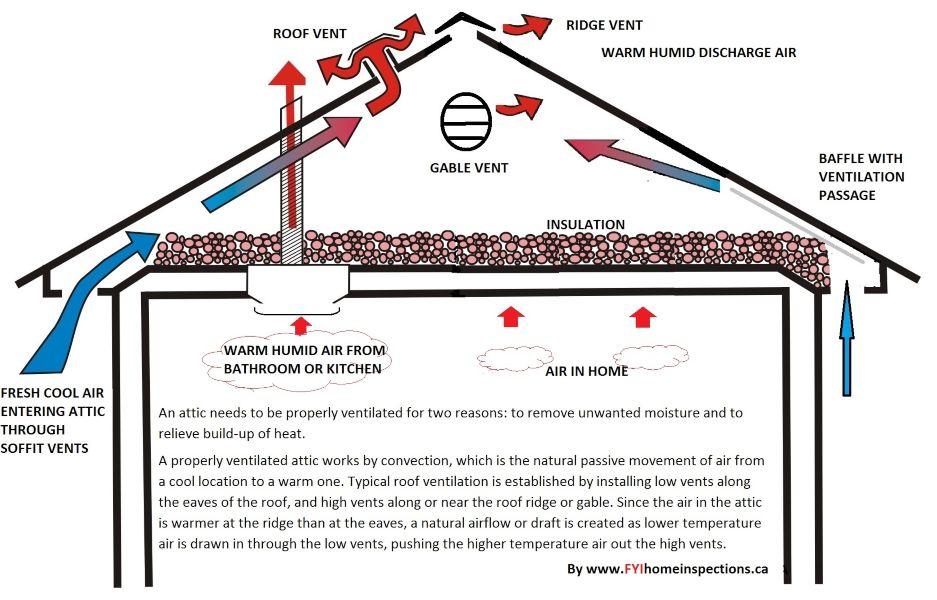 Effective Attic ventilation
