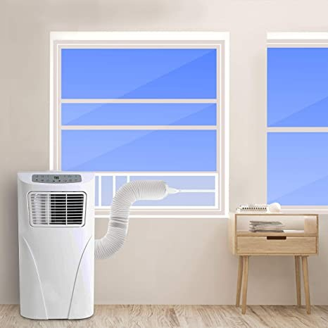 portable ac install on hung window