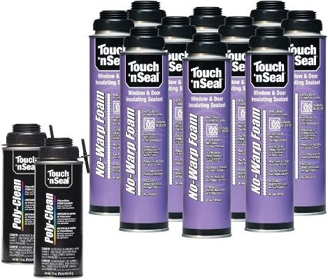 No-Warp Window and Door Insulating Spray Sealant Kit