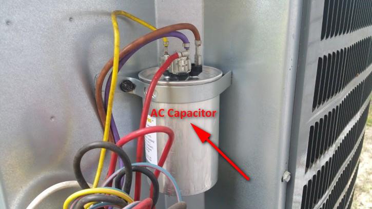 AC Capacitor Location