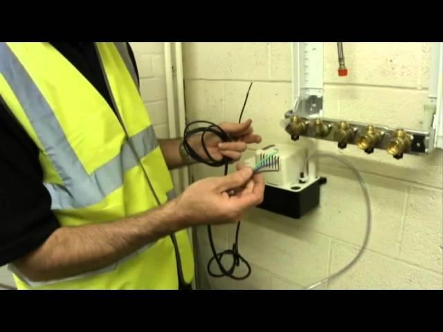Condensate pump Lines